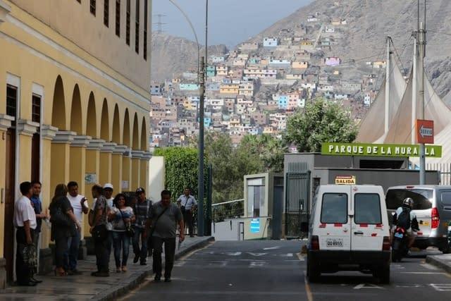 Lima Altstadt und Randbezirke